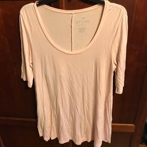 American Eagle super soft 3/4 sleeve tee